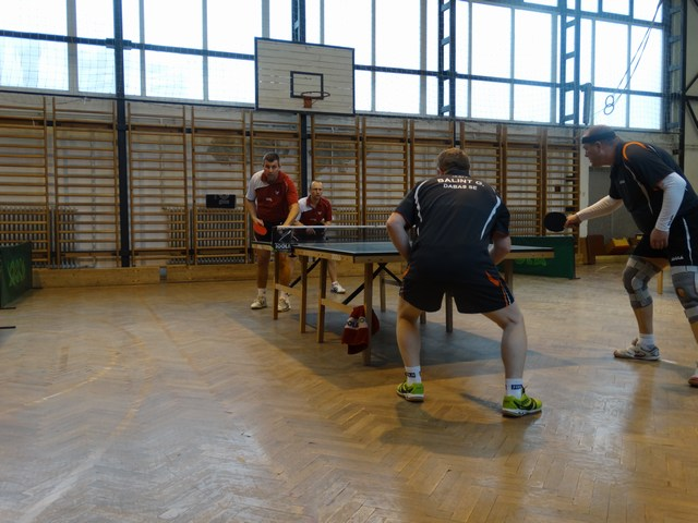 Sajnos Bálint-Járay párossal keményet küzdöttünk,de a döntő szett oda lett- 3-2
