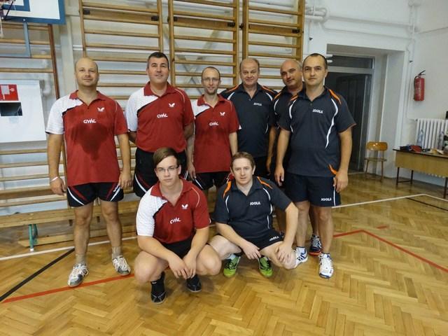 Kranauer B,Kiss P.Jaszper M.Kovács G.-Gugyarás L.Walter A,Talapka G,Bálint G.